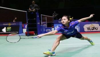 Indonesia Masters 2018: Sempat Kehilangan Konsentrasi, Olivia Pastikan Tempat di Babak Utama
