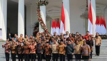 Ini Nama-nama Menteri Kabinet Indonesia Maju