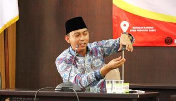 Ini Tiga Syarat Indonesia Menuju Era Emas Versi Ketua DPD KNPI Pangkalpinang
