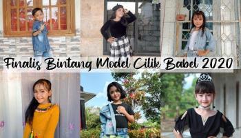 Inilah 10 Finalis Bintang Model Cilik Bangka Belitung 2020