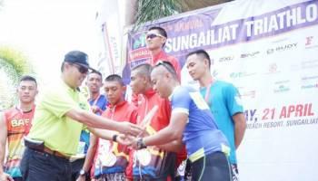 Inilah Daftar Pemenang Sungailiat Triathlon 2018