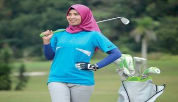 Intip Indahnya Lapangan Golf Pangkalpinang