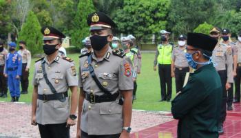 Iptu Mulya Sugiharto Resmi Jabat Kasat Reskrim Polres Bangka Tengah