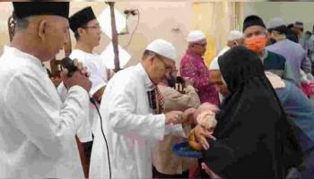 Irmas Masjid Nurul Huda Tutup Rangkaian Acara Maulid Nabi dengan Aqiqah Massal