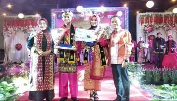 Isdafani dan Tiffoni Oktariana, Bujang Miak Bangka 2019