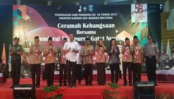 Isi Ceramah Kebangsaan, Gatot : Wujudkan Indonesia Menjadi Bangsa Pemenang