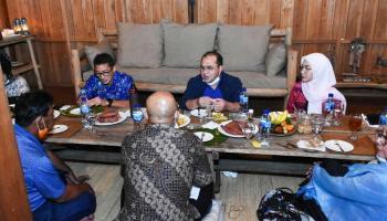 Jajal Kuliner Belitung, Menparekraf Berpesan Pelaku Usaha Harus Aktif Berpromosi