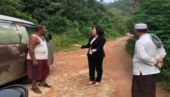 Jalan Air PL Desa Beluluk Tak Kunjung Diaspal, Ketua DPRD Berharap Dinas PU Proaktif Karena Sudah Dianggarkan