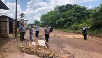 Jalan Banyak Rusak, DPRD Bateng Desak Dinas PU Segera Perbaiki