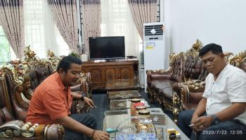 Jalin Silaturahmi, Ketua DPK HKTI Kabupaten Bangka Temui Wakil Ketua I DPRD Kabupaten Bangka