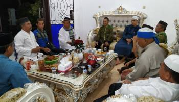 Jalin Silaturahmi, Ketua DPRD Kabupaten Bangka Terima Kunjungan Tokoh Agama dan Tokoh Masyarakat