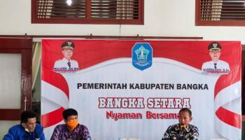 Jalin Sinergitas, HNSI Bangka Silaturahmi dengan Bupati Bangka
