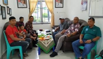 Jalin Sinergitas, Pengurus HKTI Kabupaten Bangka Lakukan Silaturahmi dengan Camat Riau Silip