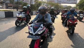 Jambore Nasional Para Bikers 2019, Ini Cermin Persaudaraan Ribuan Bikers Pencinta Honda