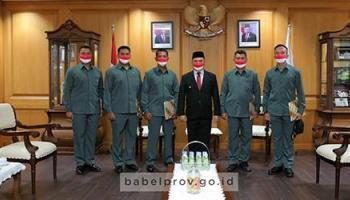 Janji Gubernur Kepada Serka Hananto Langsung Ditepati