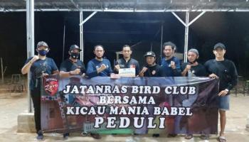 Jatanras Bird Club dan Kicau Mania Babel Peduli Gelar Lomba Amal