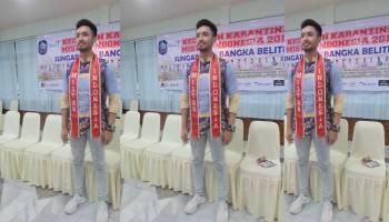 Jawara Mr Indoenia 2017 Hadiri Jumpa Pers di Tanjung Pesona