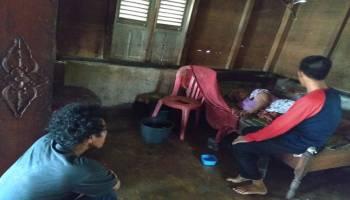 JCA Jumat Sedekah Kunjungi Rumah Nenek Rohani Penderita Stroke