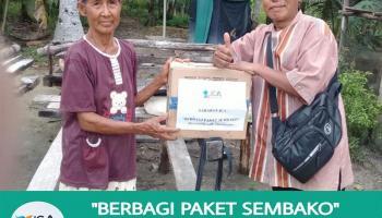 Dampak Covid-19, JCA Mulai Salurkan Bantuan Paket Sembako