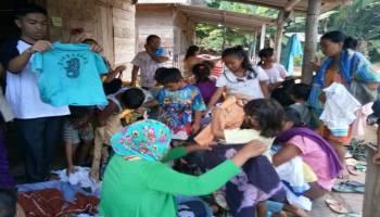JCA Simpang Rimba Gelar Program Rutin Sabtu Berbagi Pakaian
