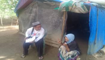 JCA Simpang Rimba: Mbah Kasmilah Berharap Punya Rumah Layak