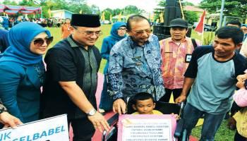 Jebus Tuan RUmah Bulan Bakti Gotong Royong 2018