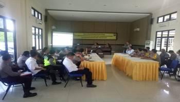 Jelang Arus Mudik, Polres Bangka Barat Gelar Latpra Ops Ketupat Menumbing 2019