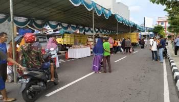 Jelang Idul Adha 1440 H, Pemkab Bangka Gelar Operasi Pasar Murah