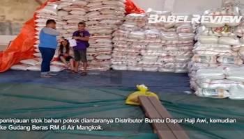Jelang Nataru 2019, TPID Pangkalpinang Pantau Stok dan Harga Bahan Pokok