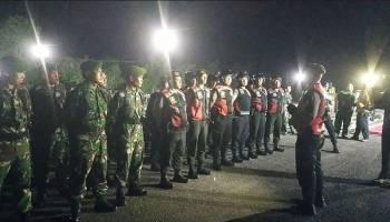 Jelang Pelantikan Presiden, TNI-Polri Gelar Patroli Gabungan