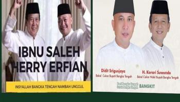 Jelang Pendaftaran, Paslon Beriman dan Berdikari Resmi Deklarasikan Koalisi