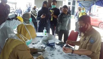Jelang Tahapan Kampanye, Jajaran Bawaslu Lakukan Rapid Test