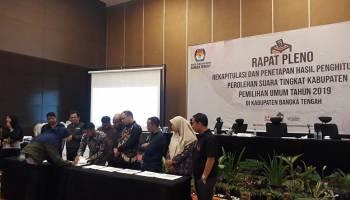 Jokowi-Amin Unggul Telak di Bangka Tengah