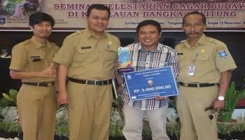 Juara I Tingkat Provinsi, Pokdarwis Gerhana Desa Terentang III Harumkan Nama Bangka Tengah