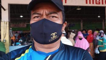 Jubir Tim GTPP Covid-19 Pemkab Bangka Nilai Pengunjung Dan Penjual Di Pasar Kite Masih Dalam Tahap Pembenahan Dalam Gunakan Masker