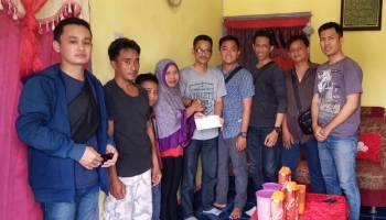 Jurnalis Sepintu Sedulang (JSS) Peduli, Berikan Bantuan Anak Penderita Bocor Selaput Jantung