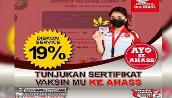 Kabar Gembira, Promo Diskon Bagi Pemilik Sertifikat Vaksin