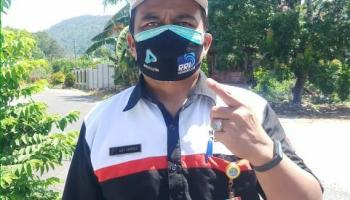 Kabupaten Bangka Semakin Maksimal Awasi Penggunaan Masker Bagi Pengendara Motor