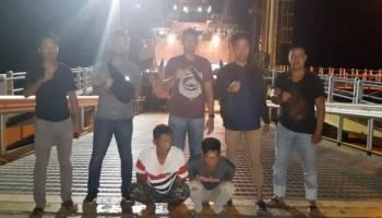 Kabur ke Oki Timur, Polsek Toboali Ringkus 3 Tersangka Pencurian Alsintan