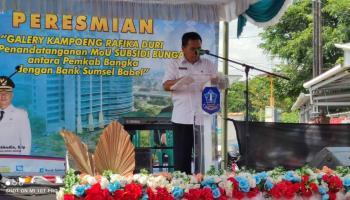 Kadisperindag Bangka Akan Tampung Produk UKM dan IKM di Galeri Rafika Duri