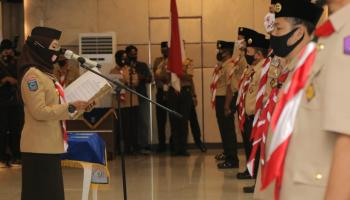 Kakwarda Melati Erzaldi Kukuhkan 11 Majelis Pembimbing dan Pimpinan Saka