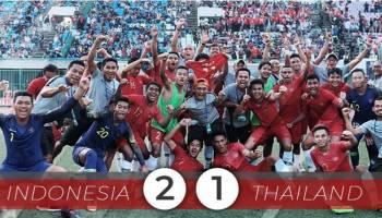 Kalahkan Thailand, Timnas Indonesia Juara AFF U-22 2019