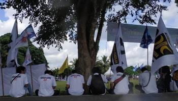 Kampanye Akbar Prabowo Sandi di Pangkalpinang Dalam Jepretan Kamera (2)