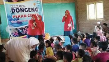 Kampoeng Dongeng Babel Mengoptimalkan Potensi Anak Melalui Dongeng