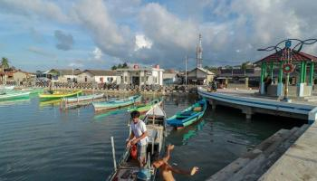 Kampung Natak, Wajah Baru Lingkungan Nelayan Sungailiat