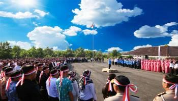 Kampus UBB Dipadati Ratusan Peserta Harmoni Indonesia