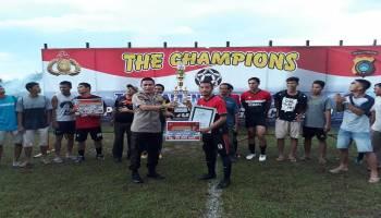 Kandaskan Beluluk FC, Gemara FC Juara Kapolres Cup 2019