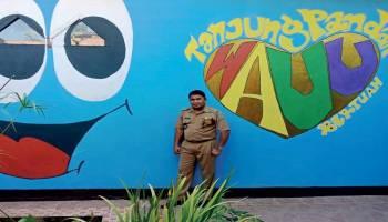 Kantor Camat Tanjung Pandan Kini Penuh Warna