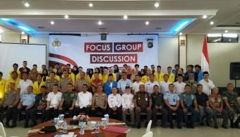 Kapolda Bangka Belitung Menjadi Narasumber FGD Yang Bertema Paham Radikalisme dan Nasionalisme
