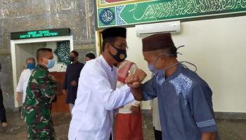 Kapolres Bangka Barat Ingatkan Selalu Gunakan Masker Saat ke Tempat Ibadah
